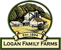Logan Family Farms, LLC. Retina Logo